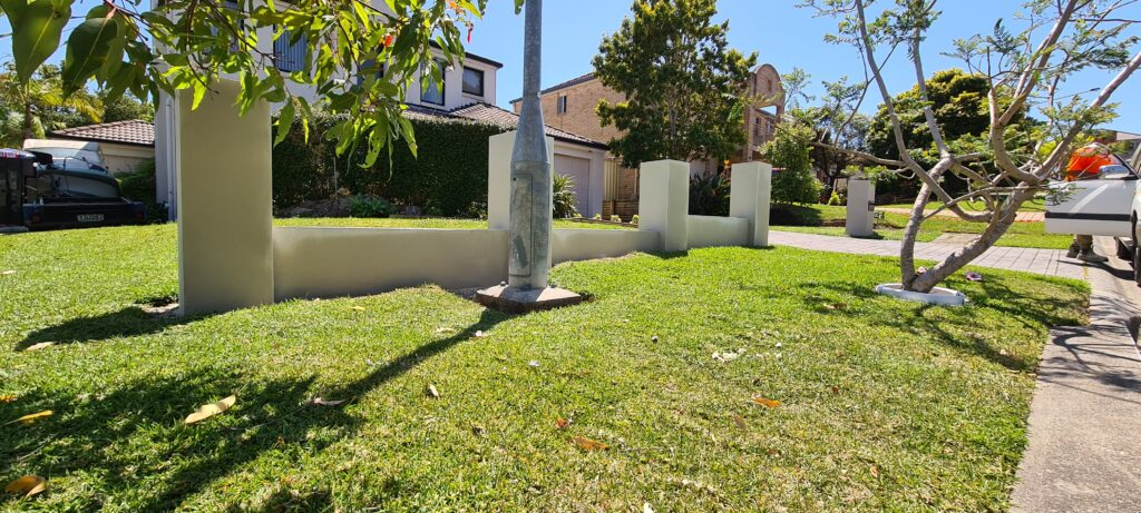 After - Front Fence 2